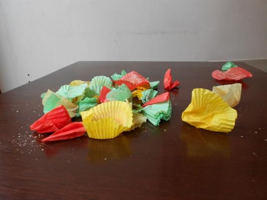 Poetry Cake Debris