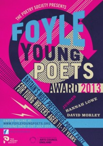 Foyle Young Poets Award poster 2013
