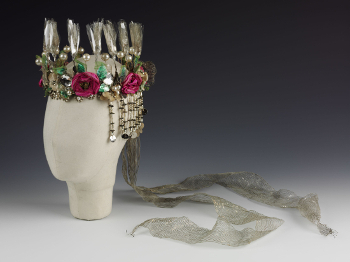 Headdress worn by Vivien Leigh in A Midsummer Nights Dream Old Vic designed by Oliver Messel 1937 VA